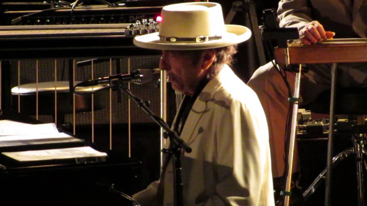 Bob Dylan - Duquesne Whistle - Cadillac Palace Theater ...