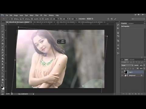 Tutorial Photoshop CS6 - Lens Flare Effect (Jepretstyle)