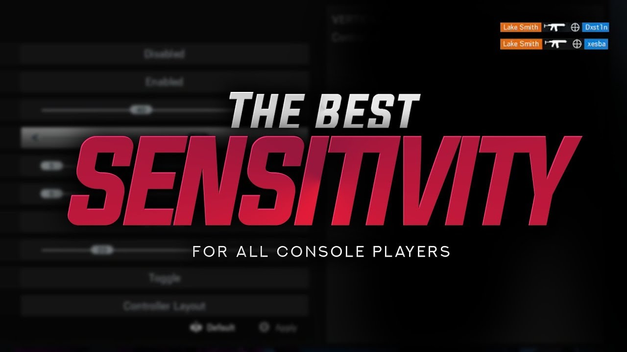 How To Find YOUR Best Sensitivity! (Quick Console Sensitivity Guide)