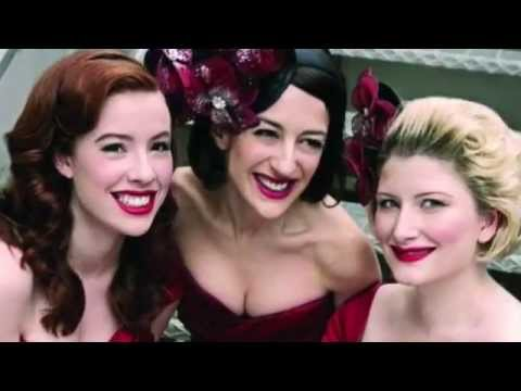 The Puppini Sisters~ Betcha Bottom Dollar~ Heart Of Glass~ Blondie