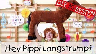Hey Pippi Langstrumpf - Singen, Tanzen und Bewegen || Kinderlieder