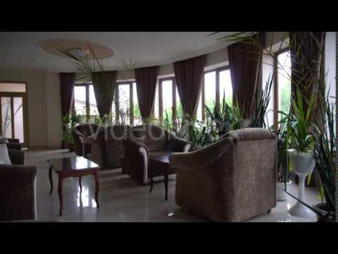 Small Hotel Lobby