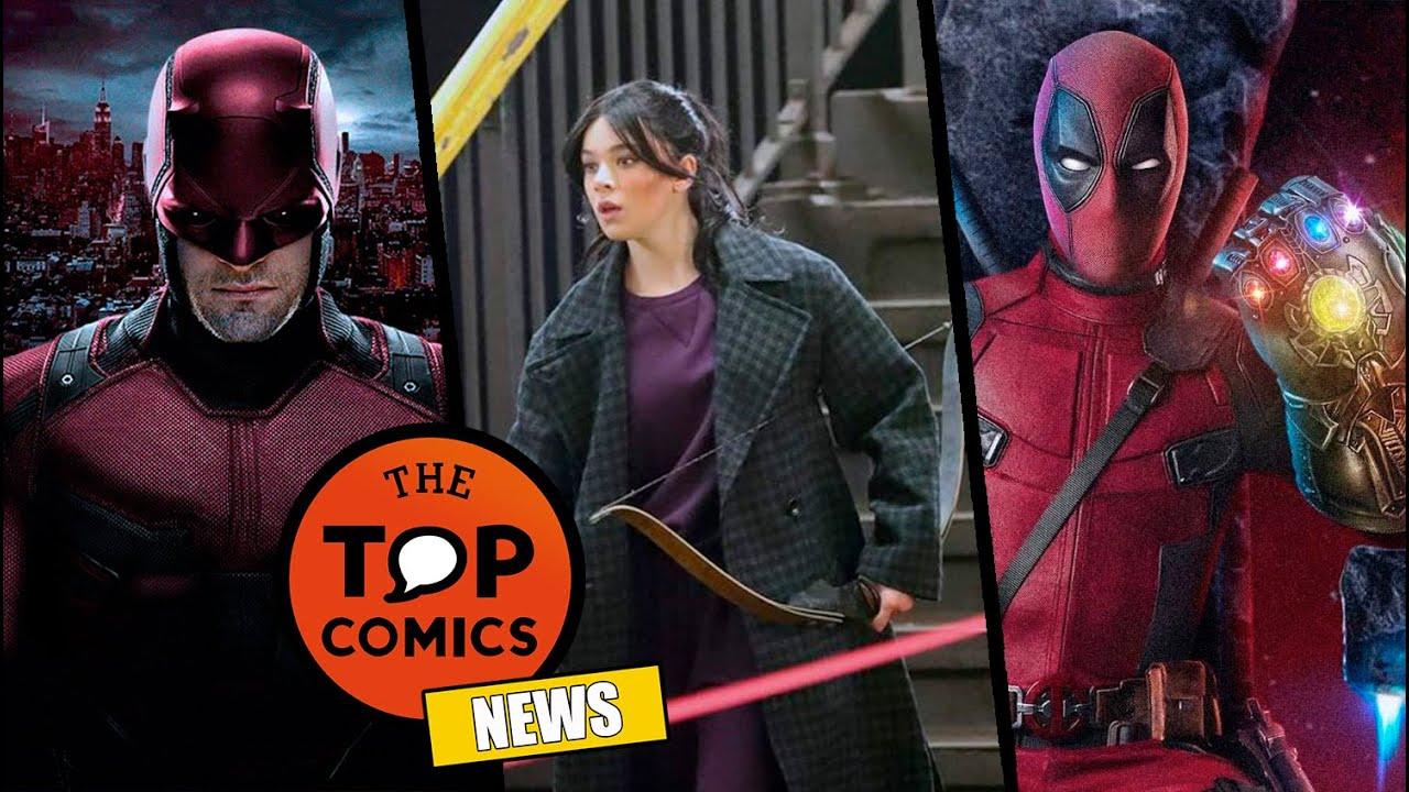 Daredevil regresa a Marvel I Hawkeye inicia filmaciones I Deadpool 3 confirmada