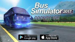 Bus Simulator 2017 Cockpit Go - Android Gameplay HD screenshot 2