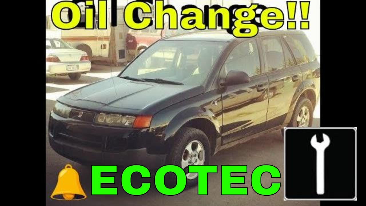 How To Do An Oil Change 2 2002 2007 Saturn Vue Ecotec