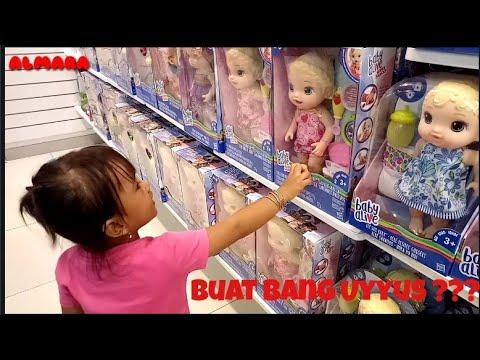 Ara Borong Mainan Ingat Uyyus Tapi Kak Alma Nya Kemana Ya?🎎🎏