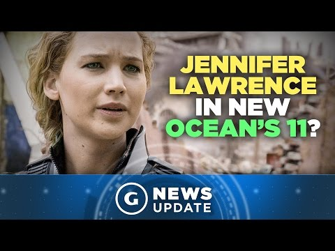 Jennifer Lawrence in Discussions for Ocean's 11 Female-Led Reboot - GS News Update