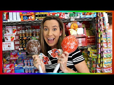 Candy Shopping Spree In NYC - Gross Gummy Candy 🍫🍭