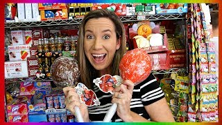 Candy Shopping Spree In NYC - Gross Gummy Candy