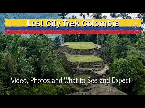 Lost City Trek Colombia  Video, Photos and What to See and Expect