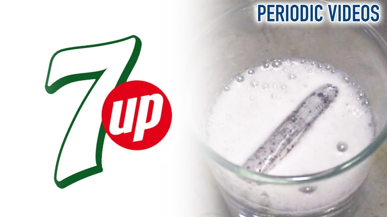 Lithium into 7 up periodic table of videos youtube urtaz Choice Image