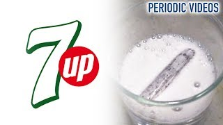 Lithium Into 7 Up - Periodic Table Of Videos