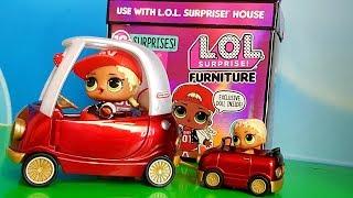 КУКЛЫ ЛОЛ СЮРПРИЗ МУЛЬТИК! СЕМЕЙКА ЛОЛ МС ОСТАЛАСЬ БЕЗ МАШИНЫ #lol surprise #куклымультики