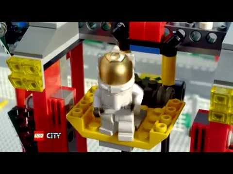 LEGO CITY SPACE - 3367 Space Shuttle and 3368 Space Center Commercial - YouTube