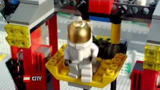 LEGO CITY SPACE - 3367 Space Shuttle and 3368 Space Center Commercial