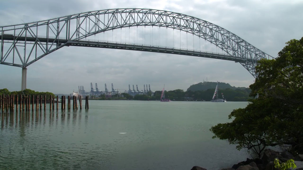 Clipper 2017-18 Race - Panama Canal Transit