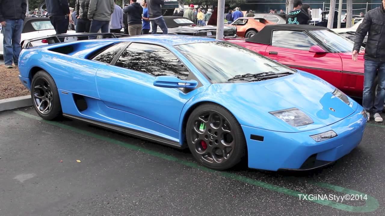 Blue Ely Lamborghini Diablo Vt 6 0 Youtube