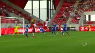 SSV Jahn Regensburg - Viktoria Aschaffenburg (Regionalliga Bayern 15/16, 1. Spieltag)
