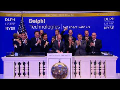 Delphi Technologies Rings the NYSE Opening Bell
