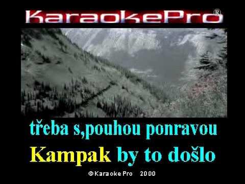 Jan Werich a Jiří Voskovec - Ezob a brabenec (karaoke)
