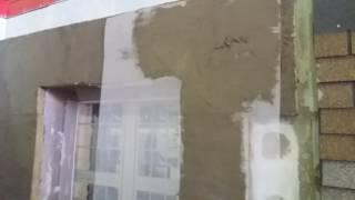 Базовый армирующий слой по минераловатной плите Технофас