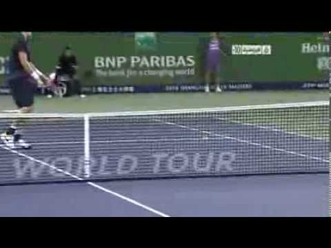 Roger Federer Plays An Unbelievable Shot Shanghai