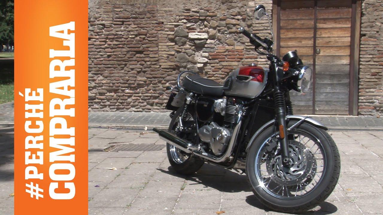 Triumph Bonneville T120 2016 Perche Comprarla E Perche No Youtube