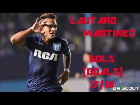 Lautaro Martinez (Racing) - Goals, Assists, Passes, Shots, Dribbles (17/18) - Best Actions FULL HD