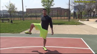 """How To """"Run Faster"""" and """"Jump Higher"""" With 3 """"Hip Mobility"""" Exercises"""