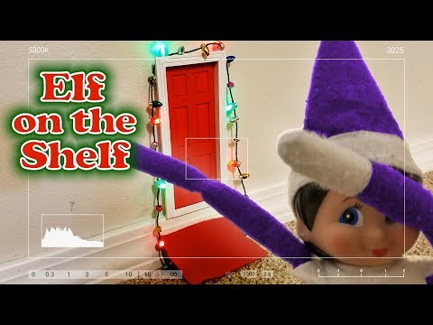 Elf on the Shelf Caught Moving on Camera! Dabbing?!?! Evil Chucky Stays!!!