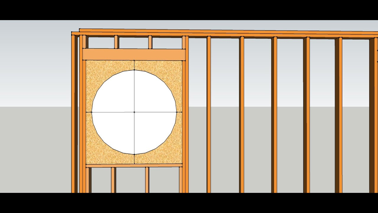 How To Build Insert For Round Window Installation – Home-Building ...