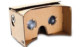Картонні 3D окуляри віртуальної реальності - Google cardboard / огляд, розпакування, складання DIY #12