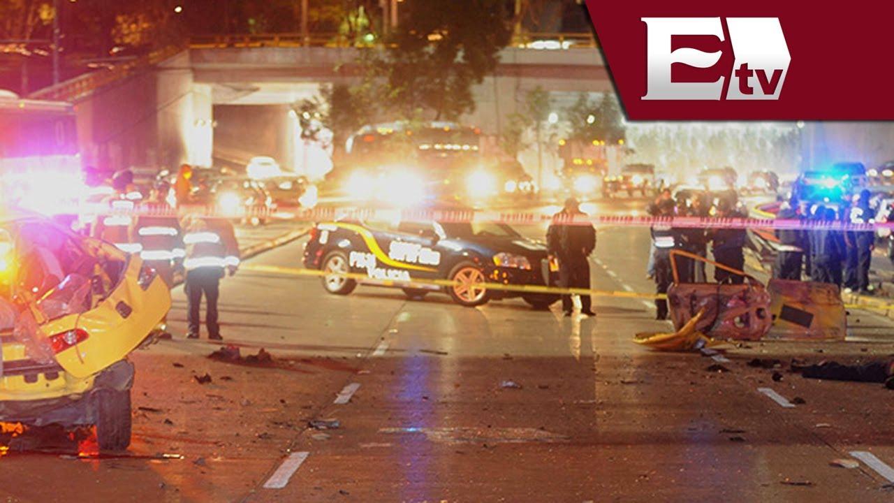 Mueren 4 Jóvenes Ebrios En Accidente Vehicular En Circuito
