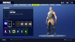 HOW to TAKE THE SKIN AND THE ZAINO ON FORTNITE!!!