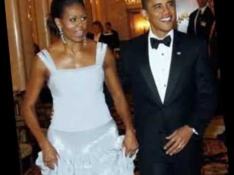 Barack & Michelle Obama - Music By James Brown & Luciano Pavarotti