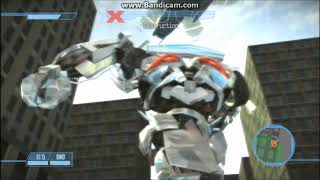 Transformers The Game Walkthrough - Unfriendly Skies - Mission 14 - Autobot