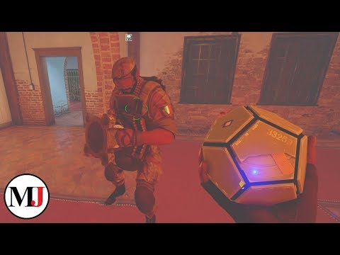 NEW Alibi/Maestro Gameplay on Villa - Rainbow Six Siege: Operation Para Bellum