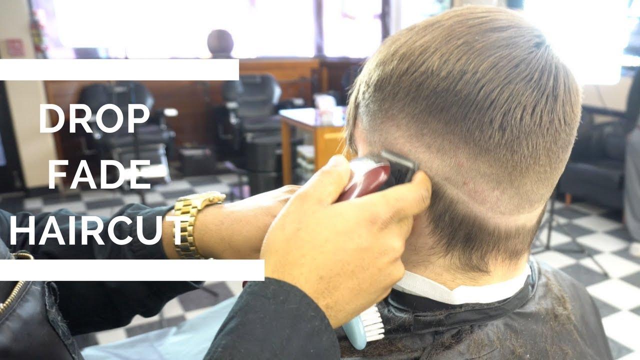 How To Do A Drop Fade Haircut Low Fade Haircut Youtube