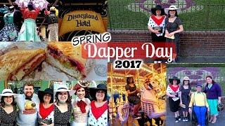 dapper day spring 2017 disneyland vlog 42
