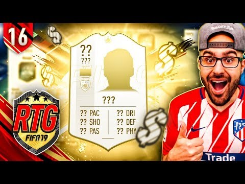 YES!! WE GOT MY FIRST ICON! FIFA 19 Ultimate Team #17 RTG