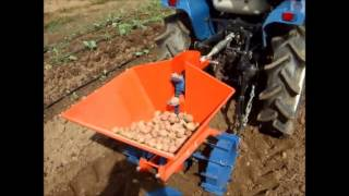 Automatic Potato Planter 1linha For Tractors Of 12 Hp To 30 Hp