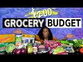 Grocery Haul on a Budget | Aldi's, Sprouts, and Sam's Club