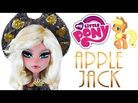 Custom Applejack Doll  [ MY LITTLE PONY OOAK ]