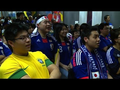 At the World Cup, Japanese-Brazilians split allegiances