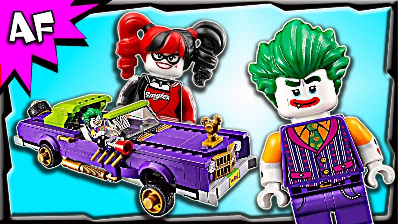 lego batman movie joker notorious lowrider 70906 speed. Black Bedroom Furniture Sets. Home Design Ideas