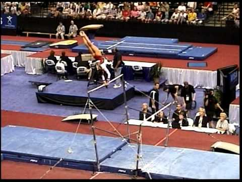 Kayla Hoffman (Rebound) - 2005 US Sr Nationals - Bars (Day 1)