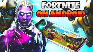 FORTNITE ANDROID BETA! How To Download And Everything You Need To Know