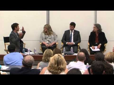 Stories of Mental Health on Campus with Eric McCormack and Jessie Close - Saks Institute 2014
