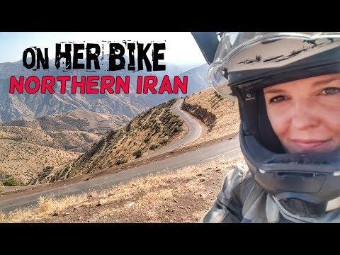 Northern Iran. On Her Bike Around the World. Episode 13