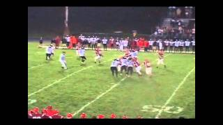Manitowoc Lincoln Football  Eric Hoffman to Andy Rosik